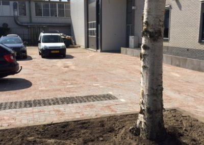 Tuin maakt plaats voor parkeer gelegenheid