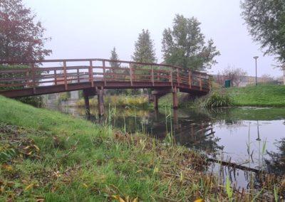 Nieuwe brug in Fijnaart